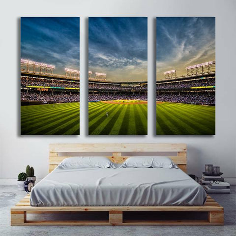 Chicago Wrigley Field Wall Art