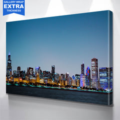 World Championship Chicago Skyline Canvas