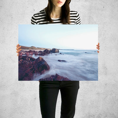 Beautiful Mystic Water Coast Wall Art High Quality Print Wall Art