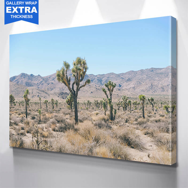 Dessert Cactus Tree Wall Art Canvas Art