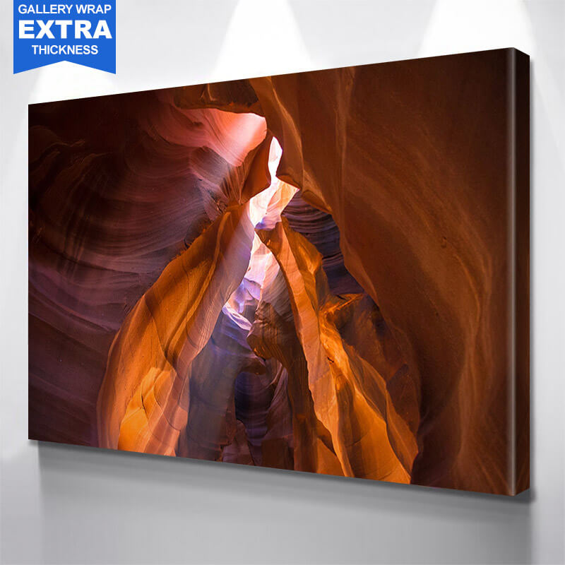 Antelope Canyon Wall Art Canvas Art