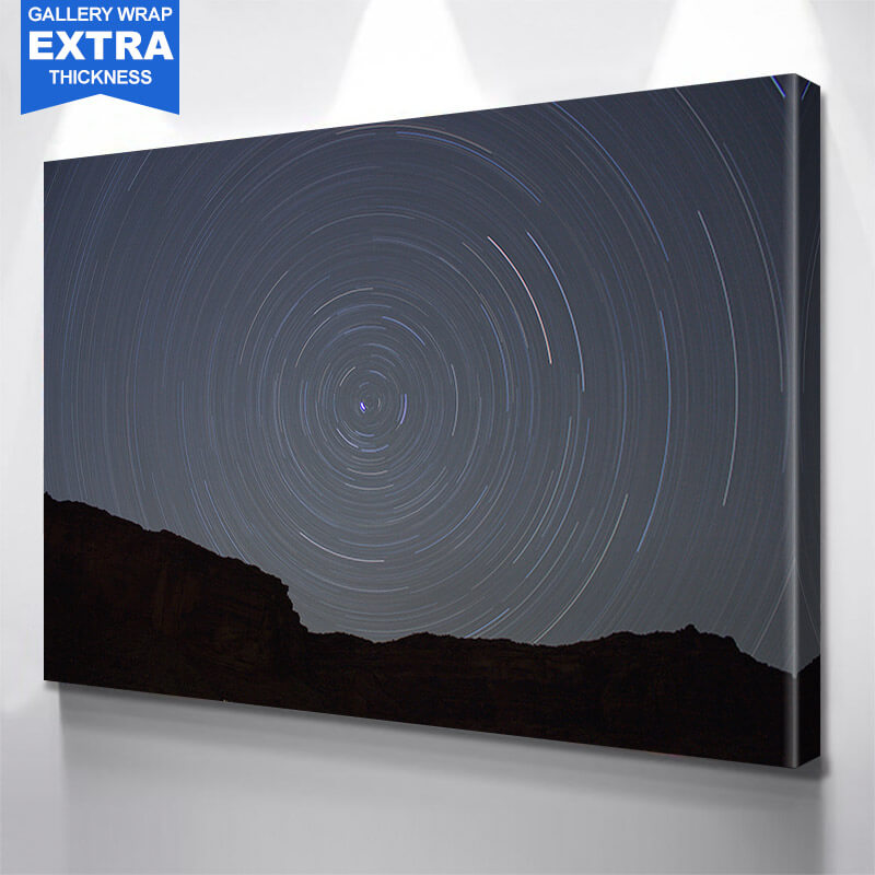Night Crazy Abstract Sky Wall Art Canvas Art