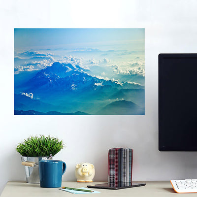 Into the Clouds Mountain Wall Art Wall Decal Wall Art