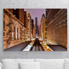 Chicago L Golden Canvas Motivational Wall Art