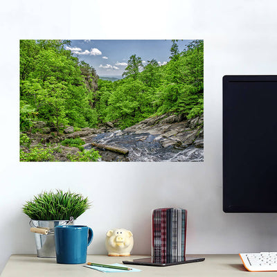 River Stream Forest Hills Wall Art Wall Decal Wall Art