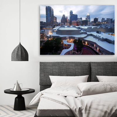Austin Downtown Skyline Wall Art Canvas Art