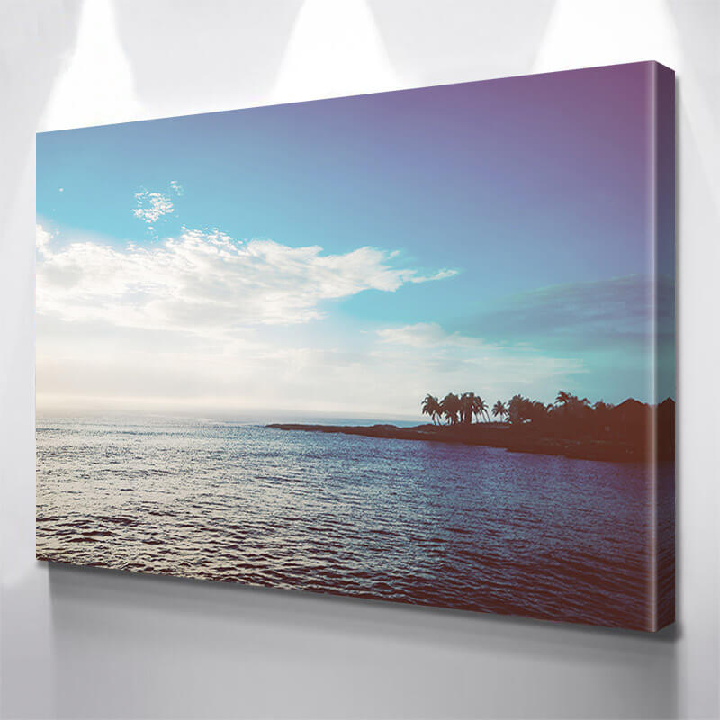 Cancun Beach Front Wall Art Canvas Art