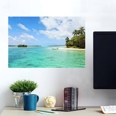 Beach Bay Tropical Wall Art Wall Decal Wall Art