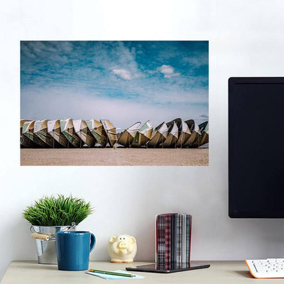 Rocky Beach Abandon Light House Wall Decals Wall Decals on Wall
