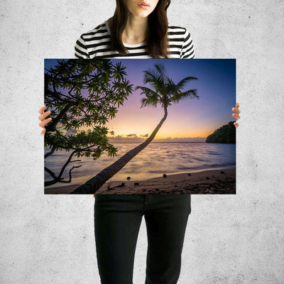 Pardis Sunrise Beach Wall Art Print High Quality Print