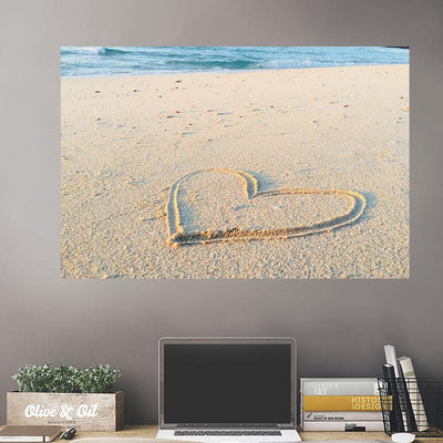 Aerial Ocean Beach Forest Wall Decals Wall Decals on Wall