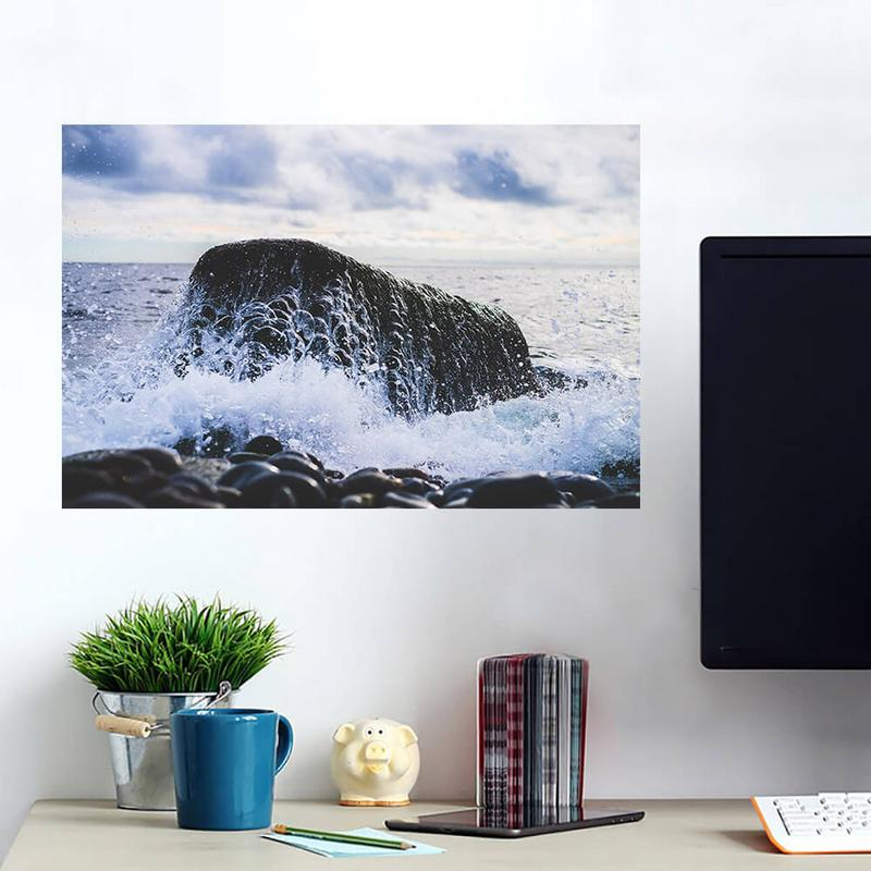 Ocean Rocks Beach Wall Decals Peel Stick Re Movable Wall Art
