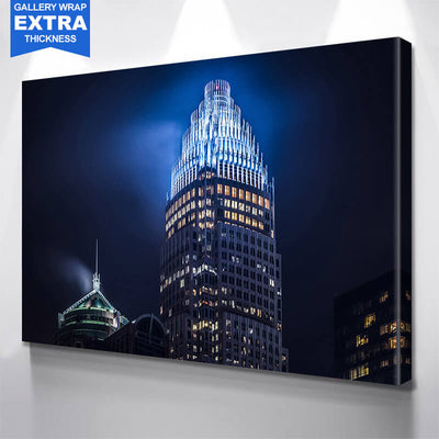 Bank of America Corporate Center Charlotte Wall Art Canvas Art