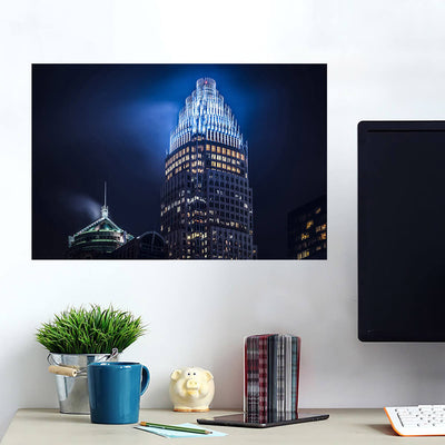 Bank of America Corporate Center Charlotte Wall Art Wall Decal Wall Art