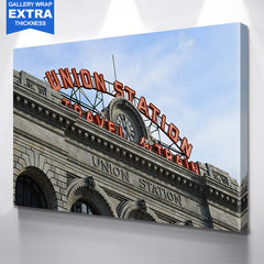 Denver Union Station Colorado Wall Art Canvas Art