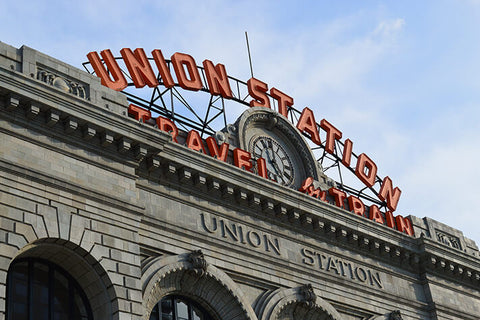 Denver Union Station Colorado Wall Art High Quality Print Wall Art