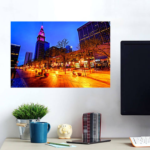 Incredible 16th Street Downtown Denver Wall Art Wall Decal Wall Art