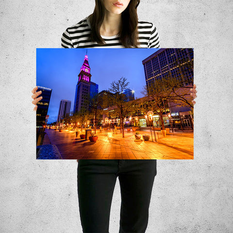Denver 16th Street Downtown Wall Art High Quality Print Wall Art