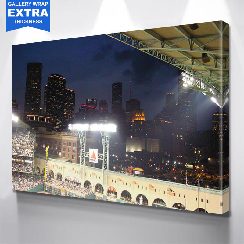 Minute Made Houston Skyline Wall Art Canvas Art