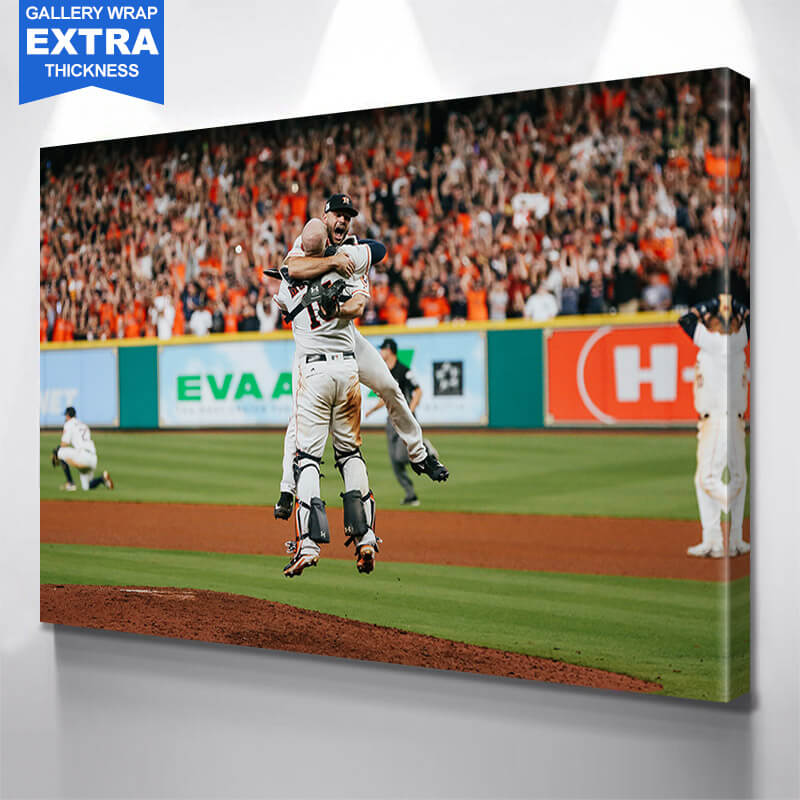 Champions Houston  Wall Art Canvas Art