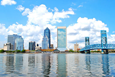 Main Street Bridge Blue Jacksonville Wall Decals Wall Decals on Wall