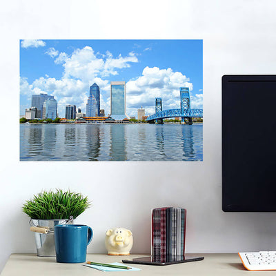 Reunion Tower Aerial Downtown Dallas Wall Decals Wall Decals on Wall