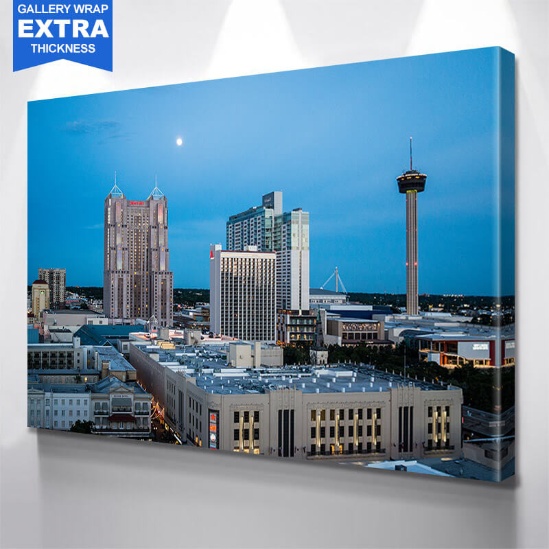 San Antonio Downtown Wall Art Canvas Art