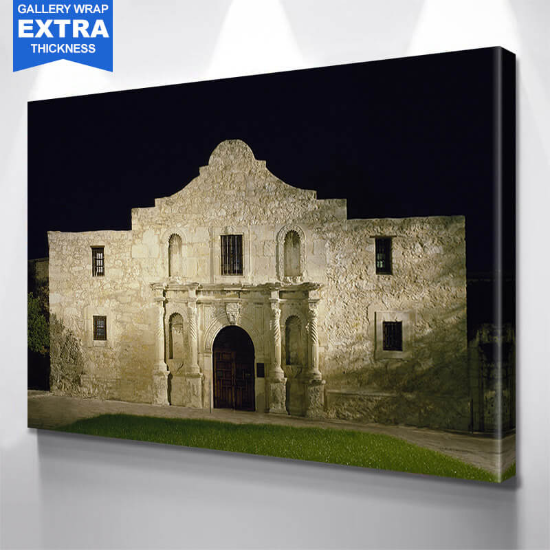 The Alamo San Antonio Wall Art Canvas Art