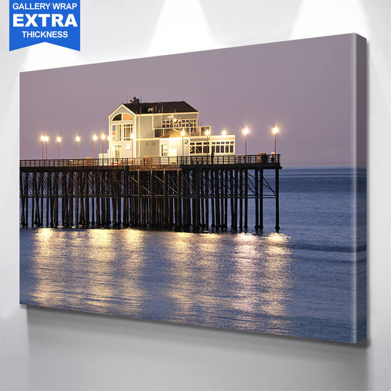 San Diego Pier Wall Art Canvas Art