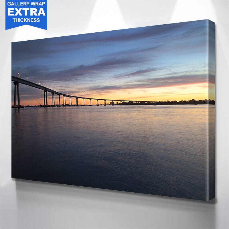 San Diego Coronado Bridge Wall Art Canvas Art