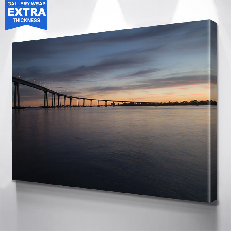 San Diego Coronado Bridge Photography Wall Art Canvas Art
