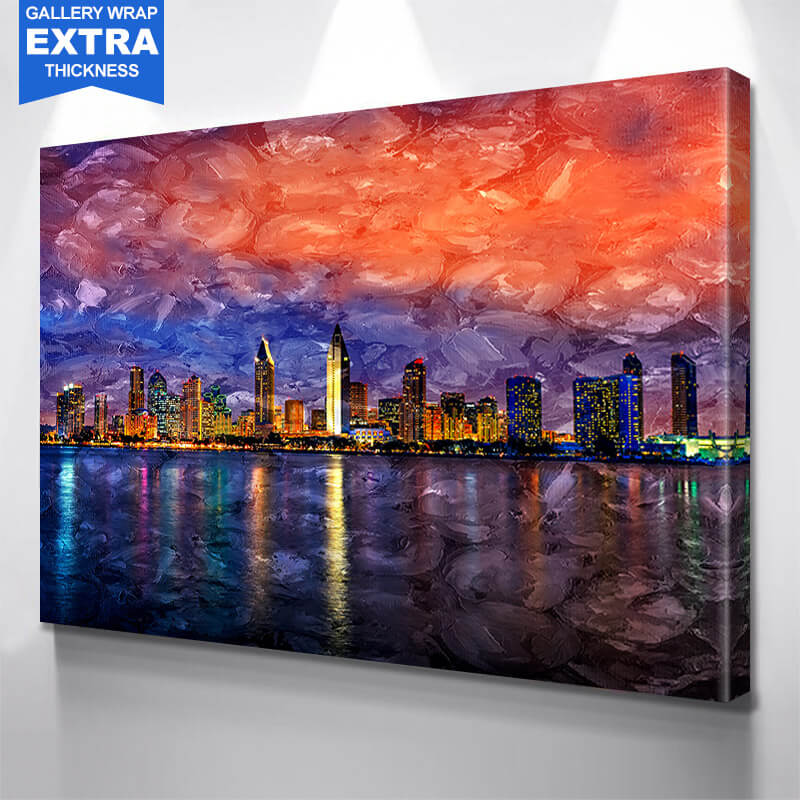 San Diego Painting Wall Art Canvas Art