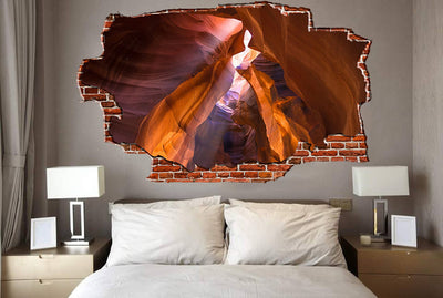 Zapwalls Decals Antelope Canyon Breaking wall Nature
