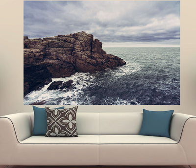 Zapwalls Decals Cliffs Edge Ocean