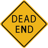 Zapwalls Decals Dead End Wall Graphic
