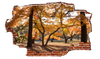 Zapwalls Decals Fall Tree View Breaking wall Nature