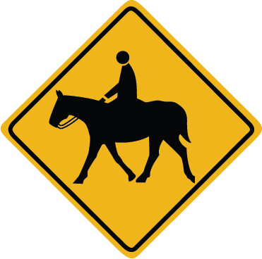 Zapwalls Decals Horse Crossing Wall Graphic