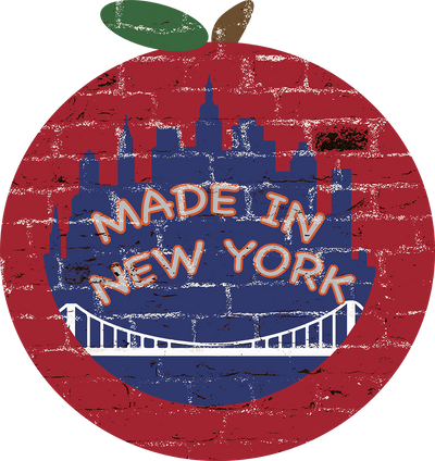 Zapwalls Decals Made In New York Apple