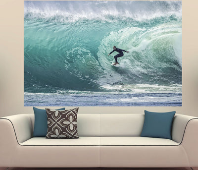 Zapwalls Decals Massive Wave Surfer