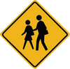 Zapwalls Decals School Crossing Wall Graphic