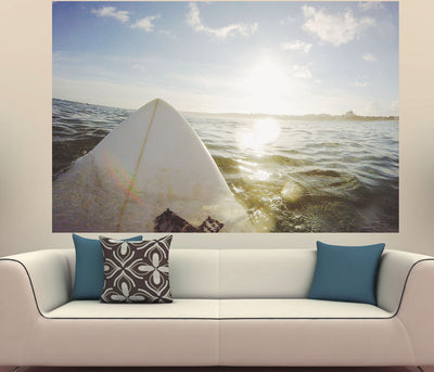Zapwalls Decals Surfer View Of Ocean