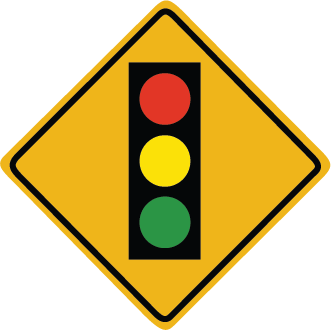 Zapwalls Decals Traffic Light Sign Wall Graphic