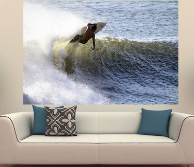 Zapwalls Decals Vintage Surfer