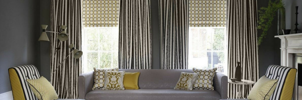 Striped Made To Measure Curtains