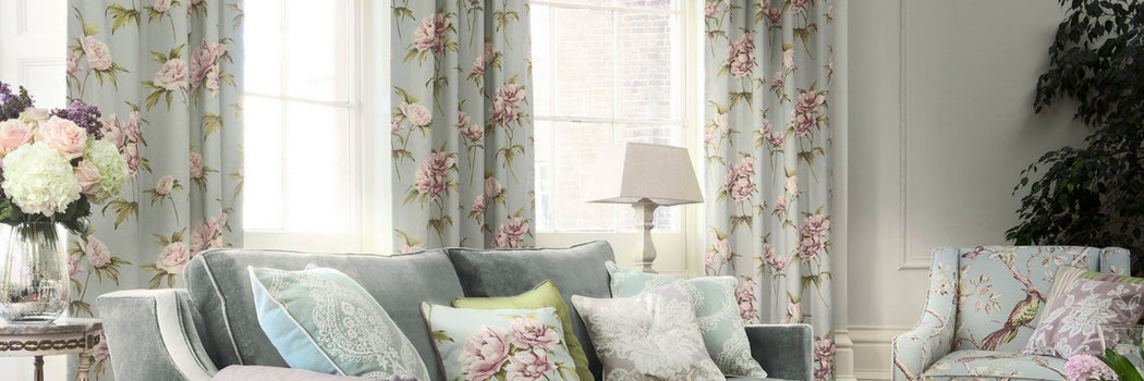 Floral Made To Measure Curtains