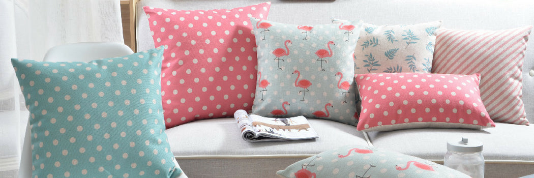 Dotted Cushions