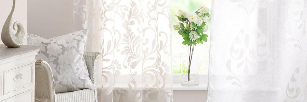 Patterned Voile Curtains