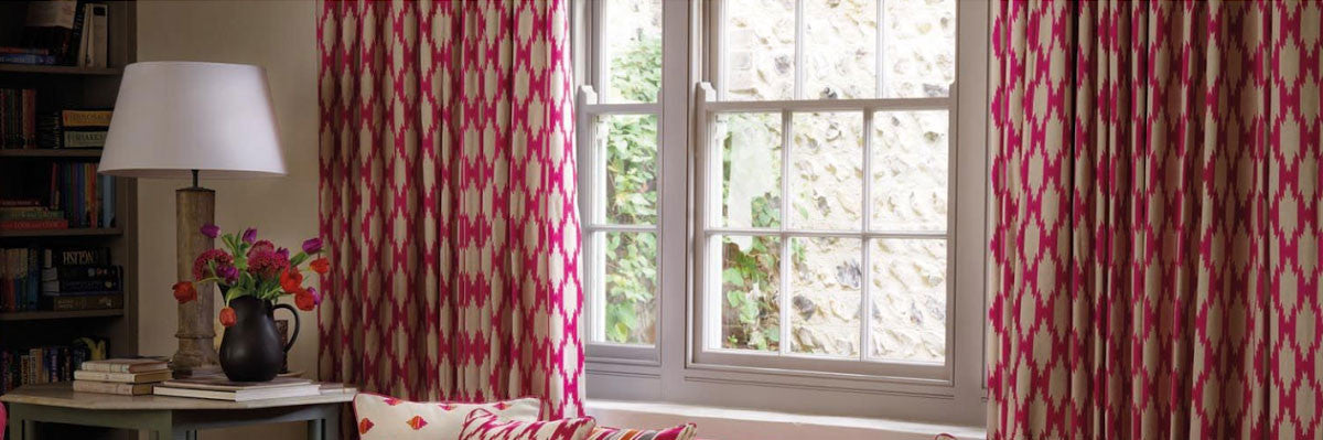 Patterned Made To Measure Curtains