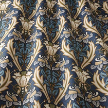 Acanthus Navy Curtains