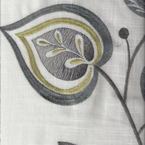 Adara Embroidery Chartreuse Curtains